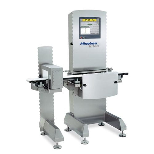 Minebea Intec Cosynus Combined Metal Detector and Checkweigher Inspection Equipment