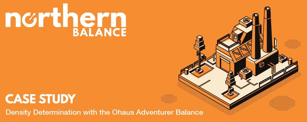 Case Study: Density Determination with the Ohaus Adventurer Balance